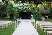 Outdoor Wedding Ceremony Canopy (chuppah Or Huppah)