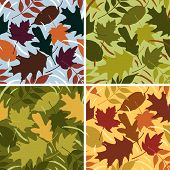 Four Seasons Leaf Pattern