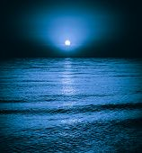 Moonlight Night Background