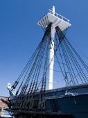 foto of uss constitution  - The historic U - JPG