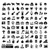 picture of silos  - Farm Icons  - JPG
