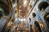 L'VIV, UKRAINE - AUGUST 18: Temple of the Apostles Peter and Paulon August 18, 2013 in L'viv, Ukrain