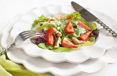 Green Salad With Strawberry