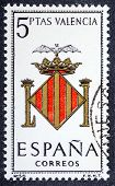 Arms Of Provincial Capitals Shows Valencia