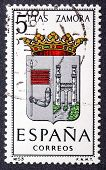 Arms Of Provincial Capitals Shows Zamora