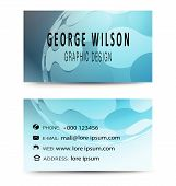Business Card Blue