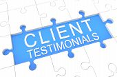 stock photo of recommendation  - Client Testimonials  - JPG