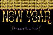 New Year Bunting Wallpaper