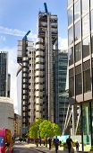 LONDON, UK - APRIL 24, 2014: City of London one of the leading centres of global finance, headquarte