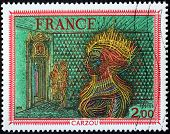 Carzou Stamp