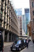 LONDON, UK - APRIL 24, 2014: Modern architecture City of London the leading centre of global finance