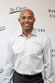 NEW YORK-MAY 6: Former baseball pitcher Mariano Rivera signs copies of his book 'The Closer: My Stor
