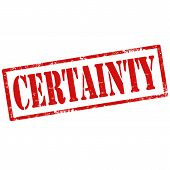 Certainty-stamp