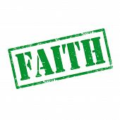 Faith-stamp