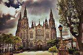 Cathedral In Arucas, Gran Canaria