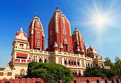 stock photo of laxmi  - Laxmi Narayan temple in New Delhi India - JPG