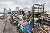 Slums in Manila