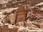 Ancient Ruins Of Petra
