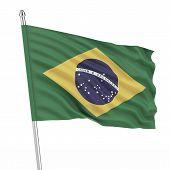 Brazil (Brasil) flag