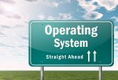 Highway Signpost Operating System