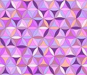 Flower Of Life Seamless Pattern Purple