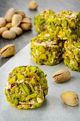 Turkish pistachio dessert