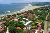 Aerial View Of Western Costa Rica Resorts