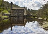 Gibson Mill In Hardcastle Crags Nature Park,