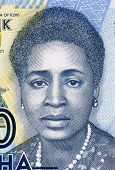 MALAWI - CIRCA 2012: Rose Chibambo (born 1928) on 200 Kwacha 2012 Banknote from Malawi. Prominent politician best known for her political fight against the British colonialism.