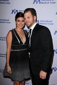 LOS ANGELES - OCT 23:  Jamie Lynn Sigler, Cutter Dykstra at the International Medical Corps 2014 Annual Awards Celebration at Beverly Wilshire Hotel on October 23, 2014 in Beverly Hills, CA