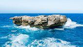 Big Rock In The Sea