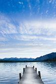 Catwalk At Lake
