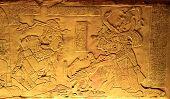 King Pakal In Ancient Mayan Ruins Of Palenque. Chiapas, Mexico.