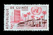 Guinea stamp 1959