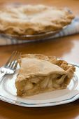 Slice Of Fresh Apple Pie
