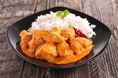 foto of curry chicken  - curry chicken - JPG