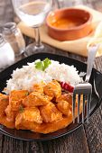 picture of curry chicken  - curry chicken - JPG