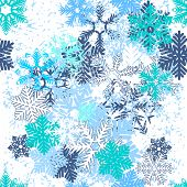 Endless texture can be used for horizontal wallpaper, pattern fills, christmas invitations and greeting cards.Vector illustration