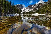 Dream Lake at the Rocky Mountain National Park, Colorado, USA