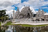 Magnificently Grand White Temple Rong Khun Temple, Chiang Rai