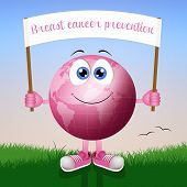 Pink Earth For Breast Cancer Prevention