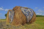 Romantic Bale of straw