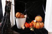 Halloween composition closeup