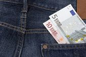 Euros (eur) In A Pocket.