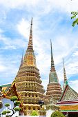 stock photo of royal palace  - Royal Grand Palace in Bangkok - JPG