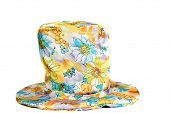 picture of mad hatter  - Fun and Funny Hat aka Mad Hatter Hat isolated on white - JPG
