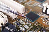 picture of rework  - Repairing of motherboard - JPG