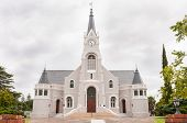 pic of south-western  - Dutch Reformed Church Heidelberg in the Western Cape Province of South Africa - JPG
