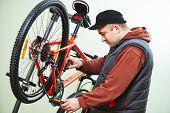 foto of bicycle gear  - Bike maintenance - JPG