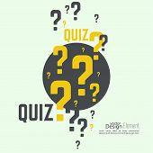 stock photo of quiz  - Quiz background - JPG